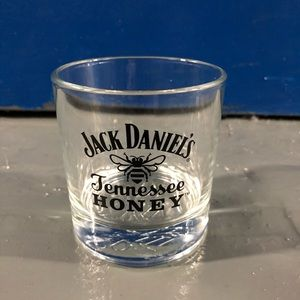 Jack Daniels Tennessee honey glass cup